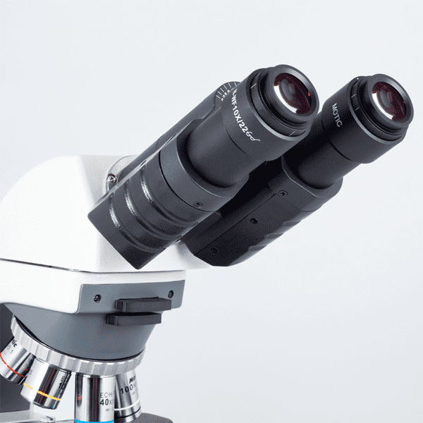 MICROSCOPIO MOTIC - BA410 ELITE BINOCULAR 50W